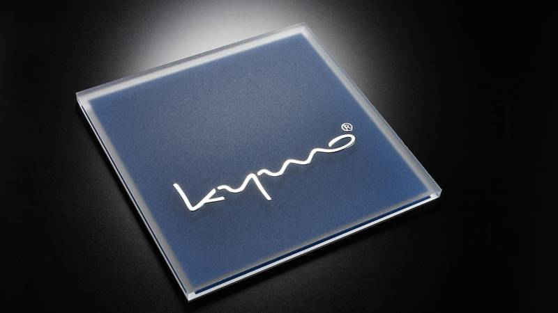 Acrylic plate with FINOCHROM® lettering | RATHGEBER